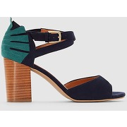 Sandales synthétique bleu marine