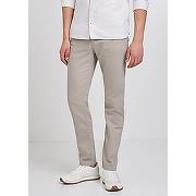 Chino coulissé en coton lin lyocell-beige-38,40,42,44,46,48-pantalons, jeans