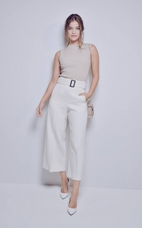 On aime le total look blanc