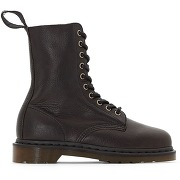 Bottines cuir noir