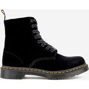 Boots pascal velvet 1460 noir dr martens femme