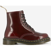Bottines vegan cambridge brush rouge dr martens femme