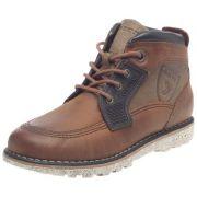 Geox jr hazzard, chaussures montantes garçon - marron, 33 eu