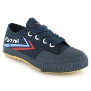 Chaussure feiyue fe-lo kid bleu, chaussure enfant
