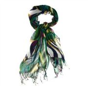 Foulard multicolore-100 % viscose