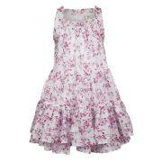 Jottum swide robe d'été rose