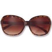 Grandes lunettes de soleil effet écaille de tortue femme next