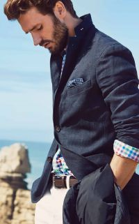 look preppy chic homme