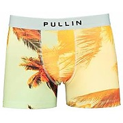 Boxer palm pull-in imprime palm tree