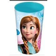 La reine des neiges - verre plastifié 270 ml
