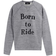 Dsquared2 sweats homme sweatshirts sur thecorner.com , 100% coton. couleurs: gris