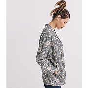 Veste kimono imprimee femme imprime multicolore - promod
