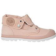 Chaussures montantes palladium baggy low lp rose femme pour femme