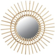 Miroir rotin soleil rotin aubry gaspard