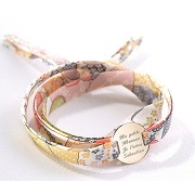 Bracelet liberty family personnalisable - créations personnalisables