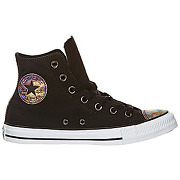 Baskets converse chuck taylor all star hi noir femme