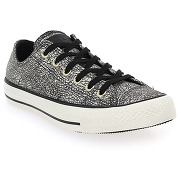 Baskets mode converse ct as oil slickleather blanc pour femme en cuir