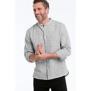 Chemise gris homme - ellos