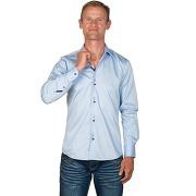 Chemise unie bleu ciel andy