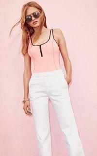 FOCUS : Le pantalon blanc