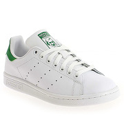 Baskets mode adidas originals stan smith blanc pour femme en cuir