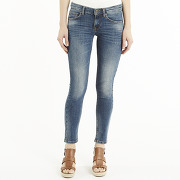 Femmes - 97 traitement - jean slim à revers, taille basse - kookaï