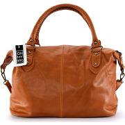 Sacs à main femmes oh my bag grand sac à main femme cuir - modèle belucci cognac solde