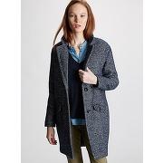 Manteau femme oversize bleu - cyrillus