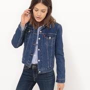 Veste jean, coton bleu - levi's