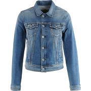 Veste en jean core - bleu - femme - pepe jeans
