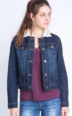 Pour on contre la veste jean au col fourrure ?