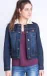 Pour on contre la veste en jean au col fourrure ?
