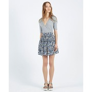 Soldes ! jupe patineuse falda conkerberry imprimé fleurs - feminin - bleu - compania fantastica
