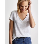 Soldes ! t-shirt femme en lin - feminin - vert - cyrillus