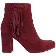 Boots rouge samelli pour femme