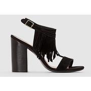 Soldes ! sandales - feminin - noir - la redoute collections
