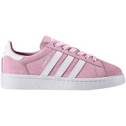 Soldes ! baskets campus c - feminin - rose - adidas originals