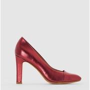 Soldes ! escarpins talon haut - feminin - rouge - la redoute collections