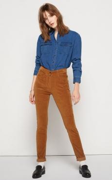 Pantalon en velours (La Redoute)