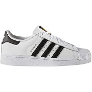Soldes ! baskets superstar c - mixte - blanc - adidas originals