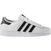 Soldes ! baskets superstar c - mixte - blanc - adidas originals