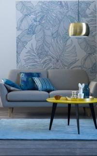 Salon bleu (La Redoute Intérieurs)