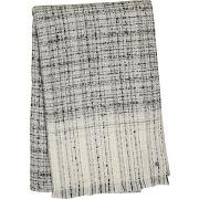 Echarpe effet laine imprimé carreaux gris lauren ralph lauren femme