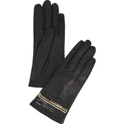 Gants glitter noir galeries lafayette femme