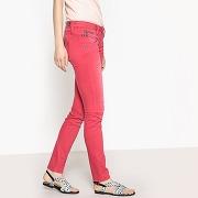 Jean slim alexa new magic color framboise