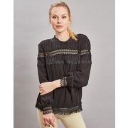 Diego reiga-femme-blouse tokai broderies noire-t.1