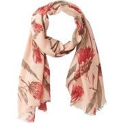 Foulard imprimé fleuri imprimé rose