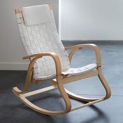 Rocking chair, design, jimi blanc