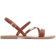 Sandales cuir baden marron