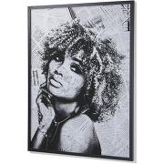Tableau arsdale, noir journal 78x103 cm